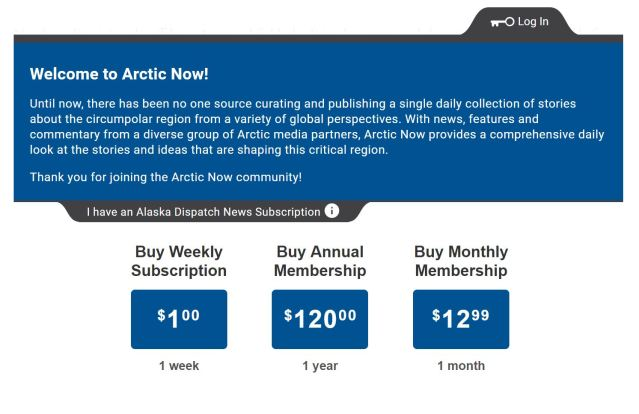 buy arctic now