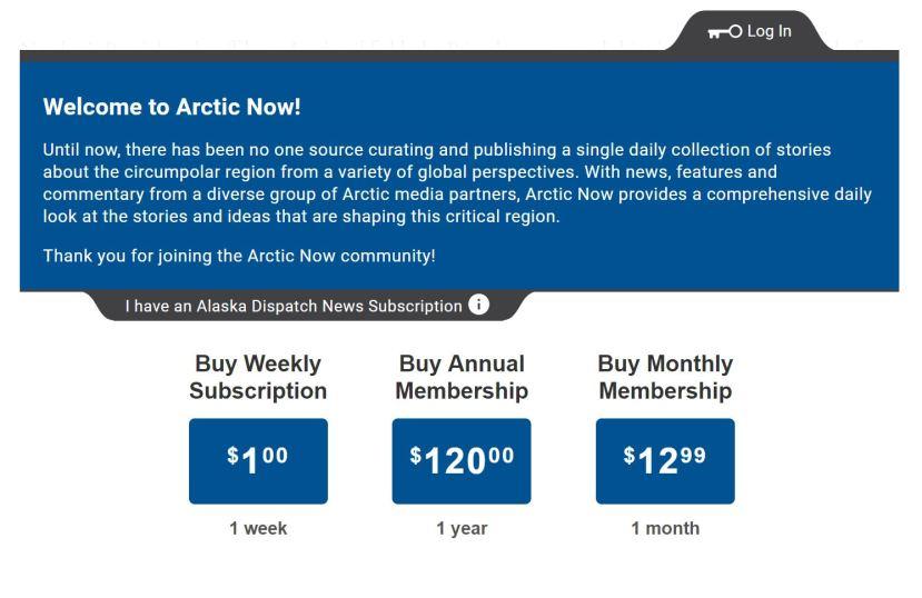 buy arctic now
