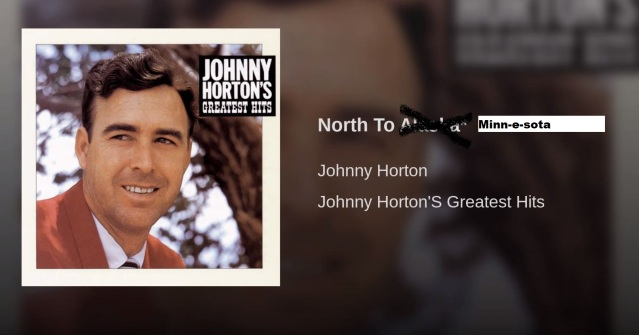 johnny horton north to minnesota