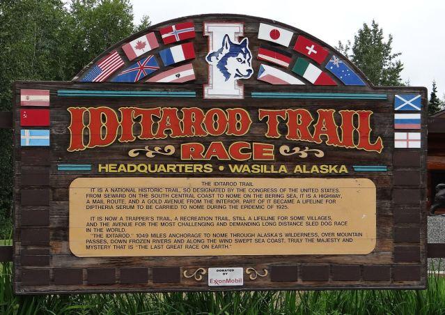Iditarod race hdqts